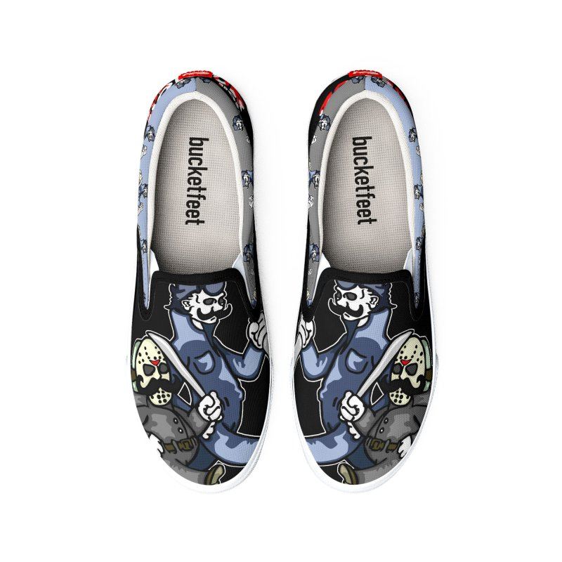 Super Horror Bros Women's Shoes by Norman Wilkerson Designs