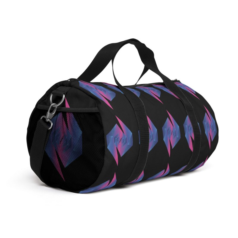 I Dream In Polygon Accessories Bag by Norman Wilkerson Designs