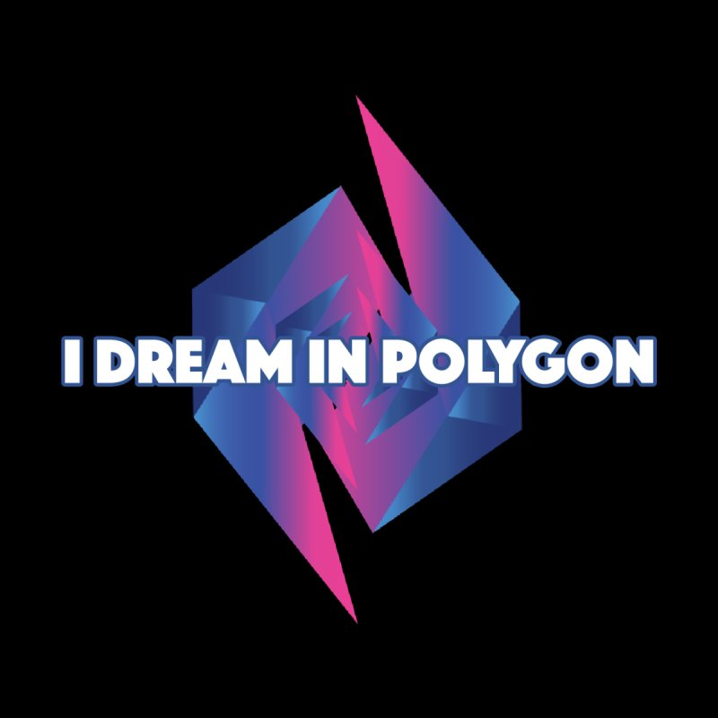 I Dream In Polygon Men's T-Shirt by Norman Wilkerson Designs