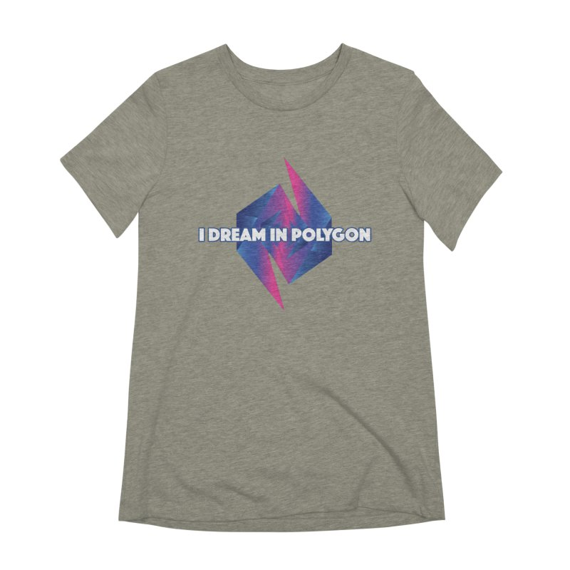 I Dream In Polygon Women's Extra Soft T-Shirt by Norman Wilkerson Designs