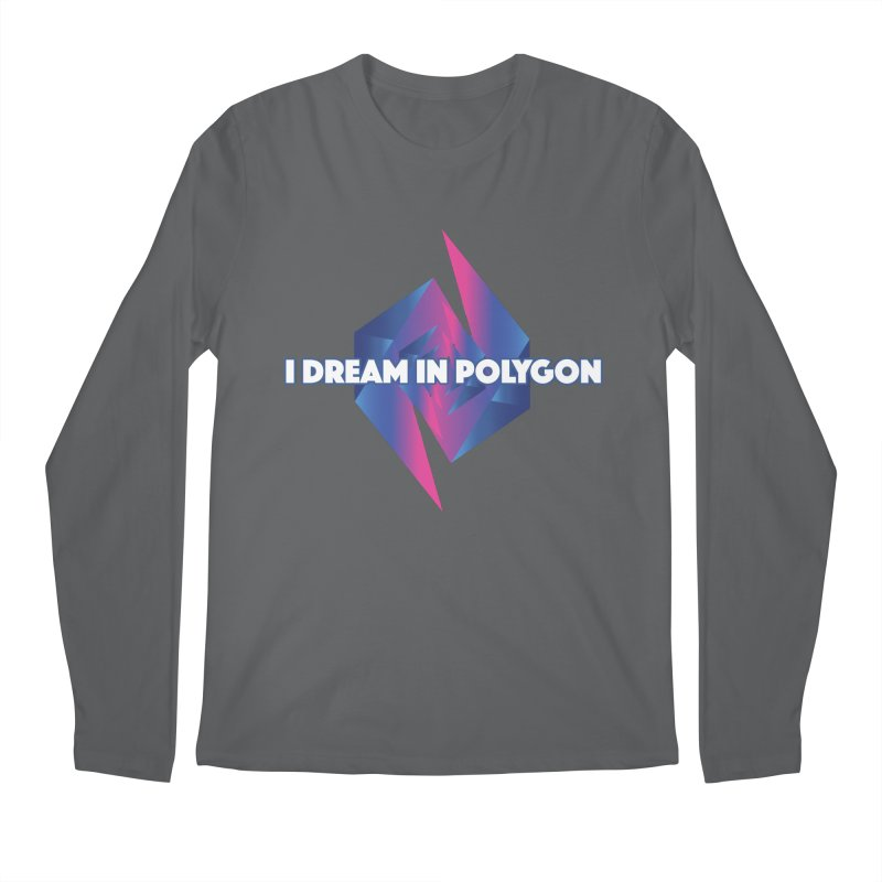 I Dream In Polygon Men's Regular Longsleeve T-Shirt by Norman Wilkerson Designs