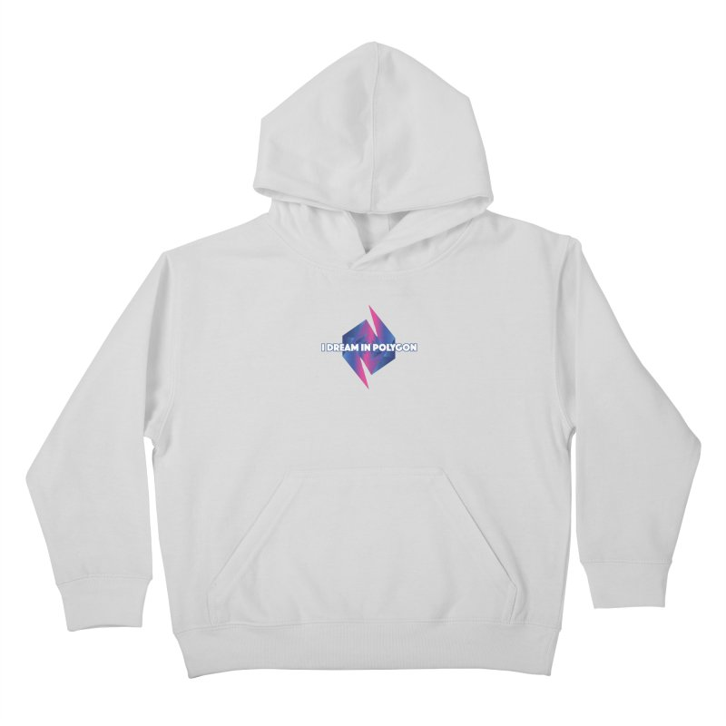 I Dream In Polygon Kids Pullover Hoody by Norman Wilkerson Designs