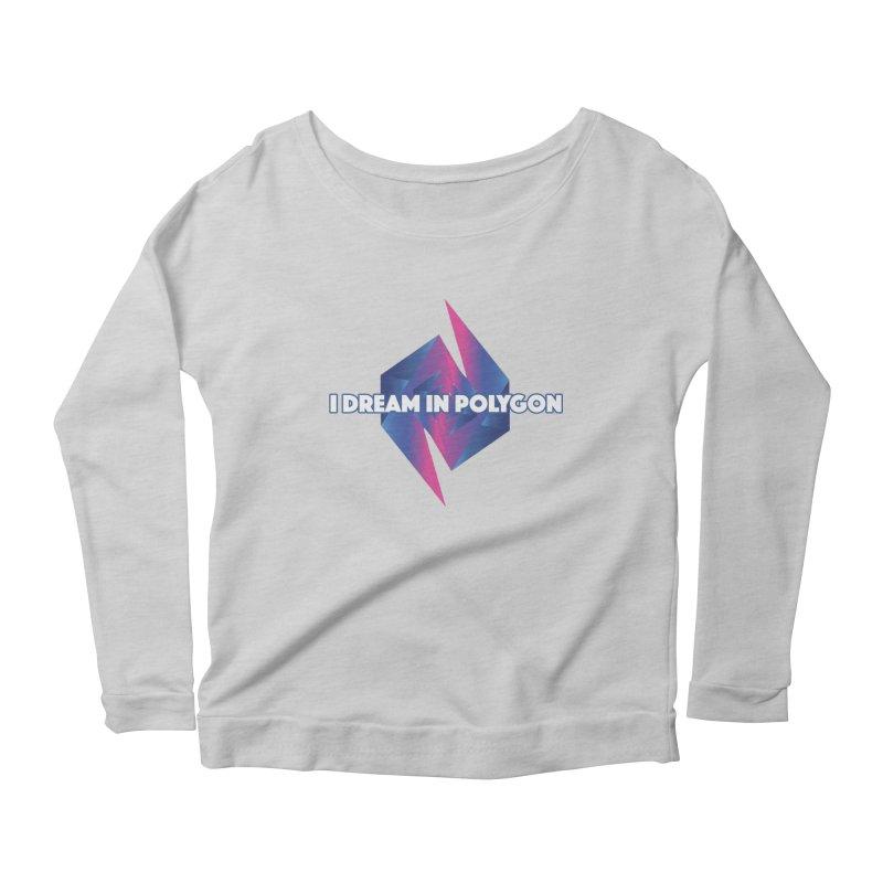 I Dream In Polygon Women's Scoop Neck Longsleeve T-Shirt by Norman Wilkerson Designs