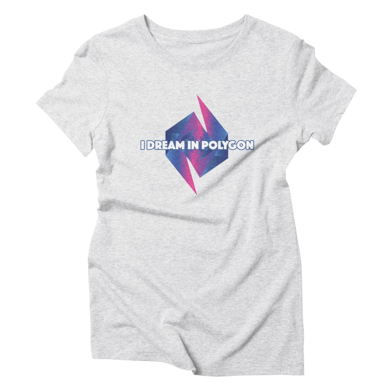 I Dream In Polygon Women's T-Shirt by Norman Wilkerson Designs