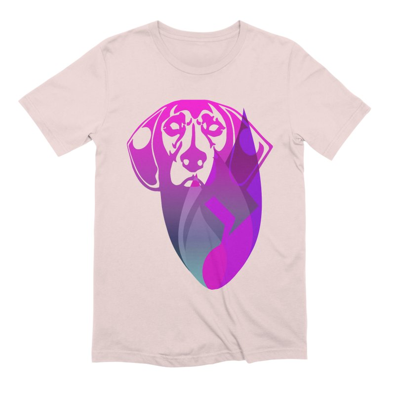 Dog Fire Men's Extra Soft T-Shirt by Norman Wilkerson Designs