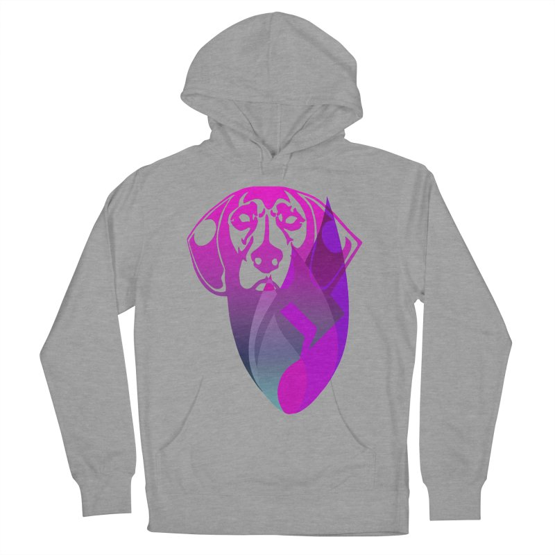Dog Fire Women's Pullover Hoody by Norman Wilkerson Designs