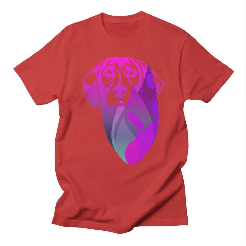 Dog Fire Men's Regular T-Shirt by Norman Wilkerson Designs