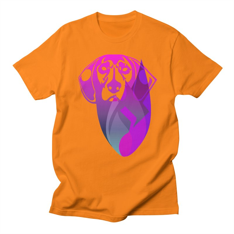 Dog Fire Men's T-Shirt by Norman Wilkerson Designs