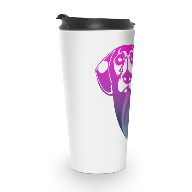 Dog Fire Accessories Travel Mug by Norman Wilkerson Designs