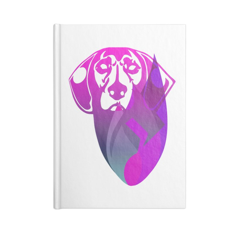 Dog Fire Accessories Blank Journal Notebook by Norman Wilkerson Designs