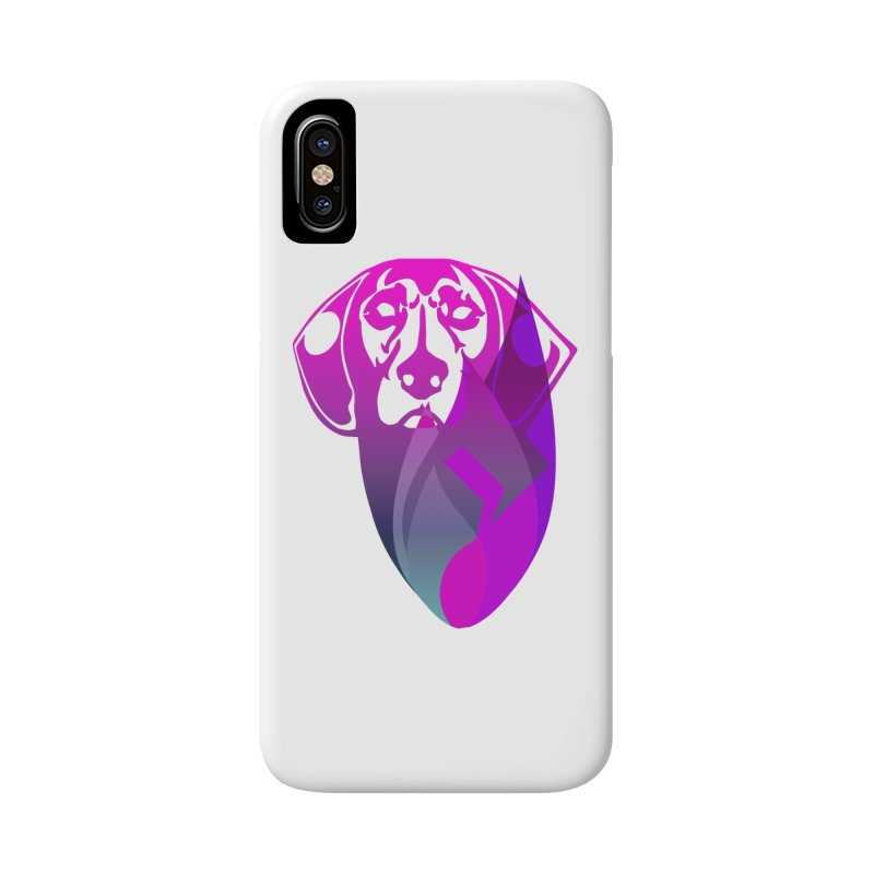 Dog Fire Accessories Phone Case by Norman Wilkerson Designs
