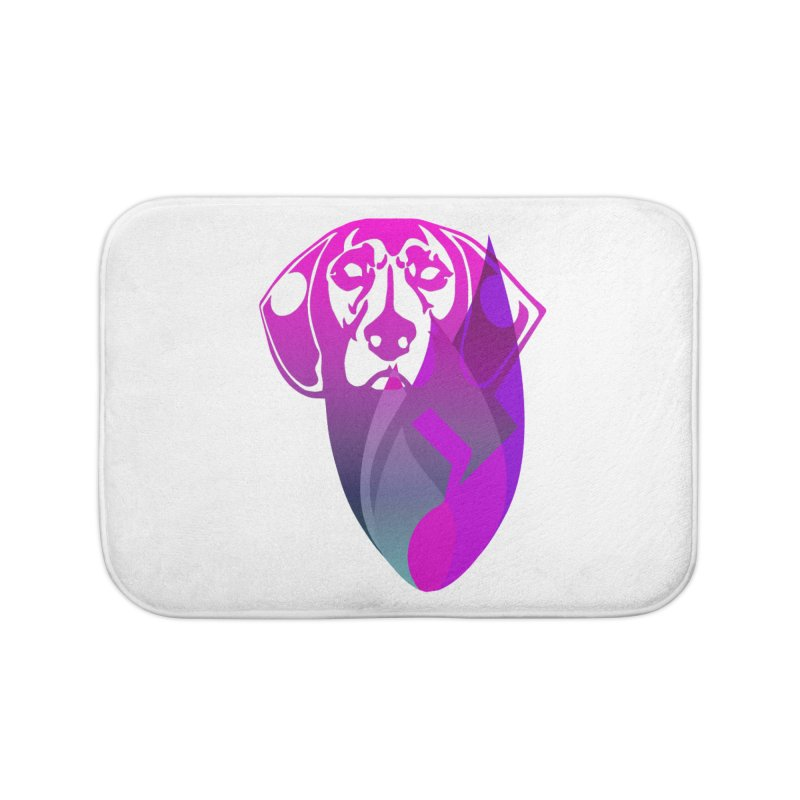 Dog Fire Home Bath Mat by Norman Wilkerson Designs