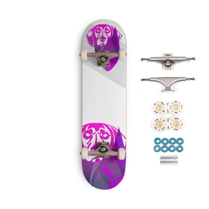 Dog Fire Accessories Complete - Premium Skateboard by Norman Wilkerson Designs