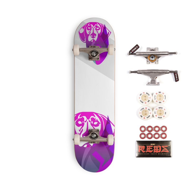 Dog Fire Accessories Complete - Pro Skateboard by Norman Wilkerson Designs