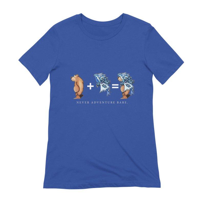 Blue Bear Women's Extra Soft T-Shirt by Norman Wilkerson Designs