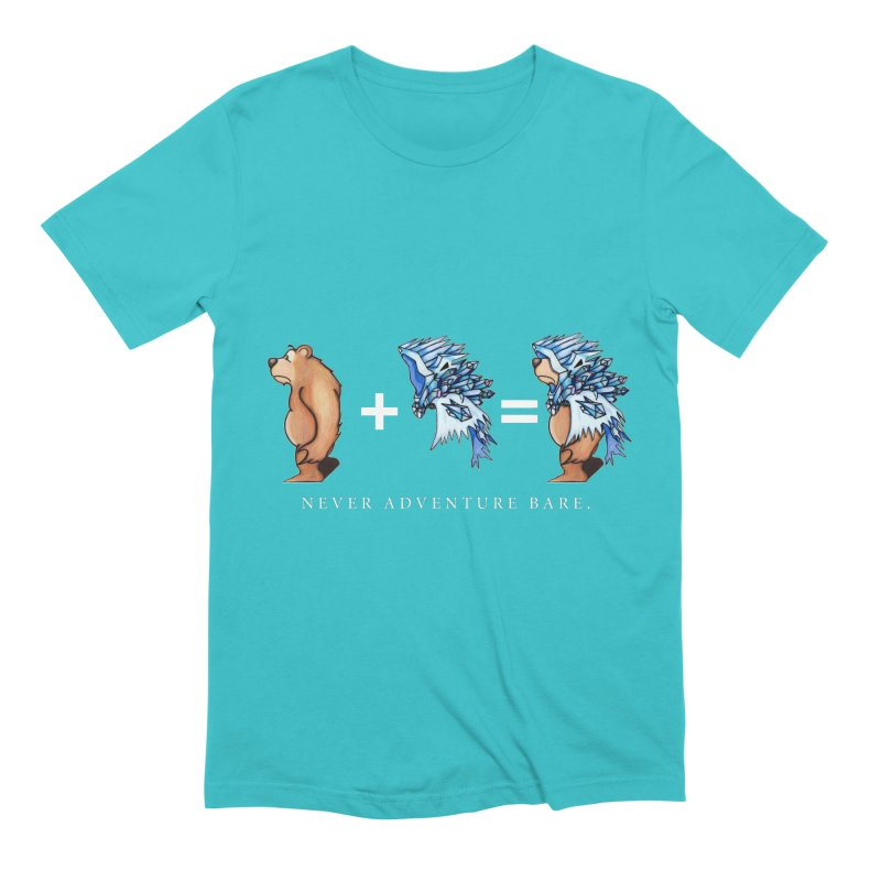 Blue Bear Men's Extra Soft T-Shirt by Norman Wilkerson Designs