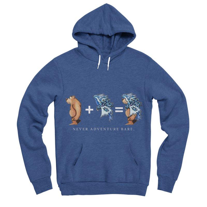 Blue Bear Men's Sponge Fleece Pullover Hoody by Norman Wilkerson Designs