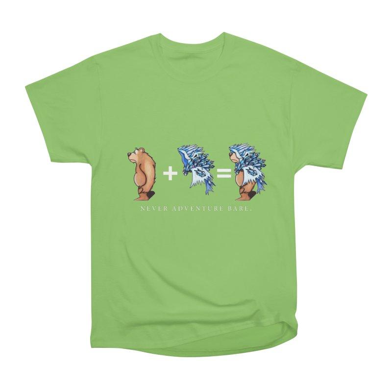 Blue Bear Women's Heavyweight Unisex T-Shirt by Norman Wilkerson Designs