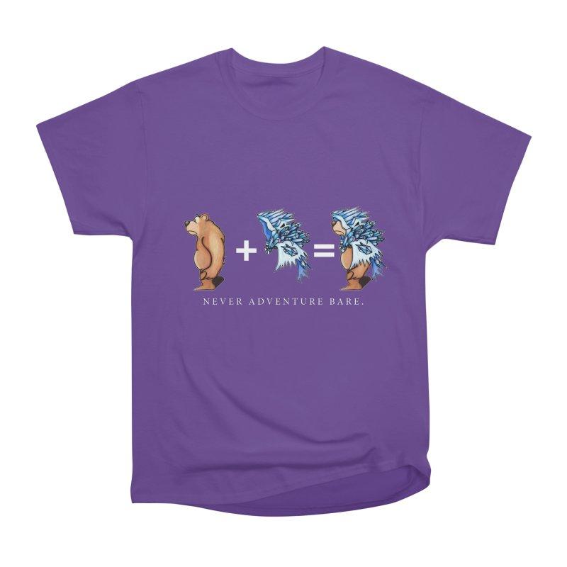 Blue Bear Men's Heavyweight T-Shirt by Norman Wilkerson Designs