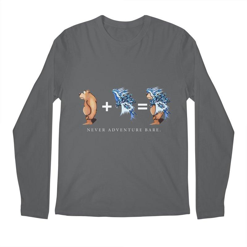 Blue Bear Men's Longsleeve T-Shirt by Norman Wilkerson Designs
