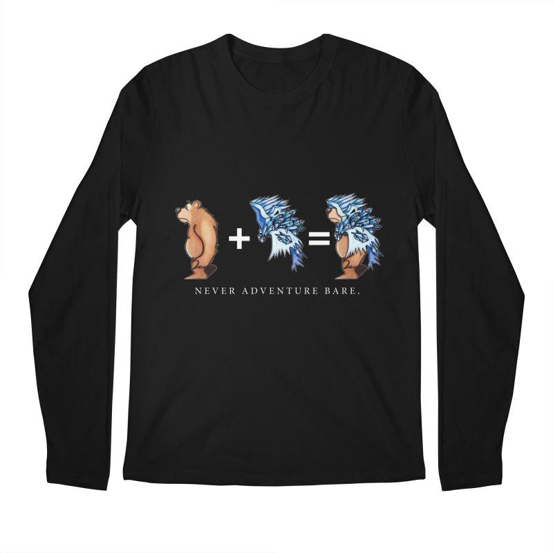 Blue Bear Men's Regular Longsleeve T-Shirt by Norman Wilkerson Designs