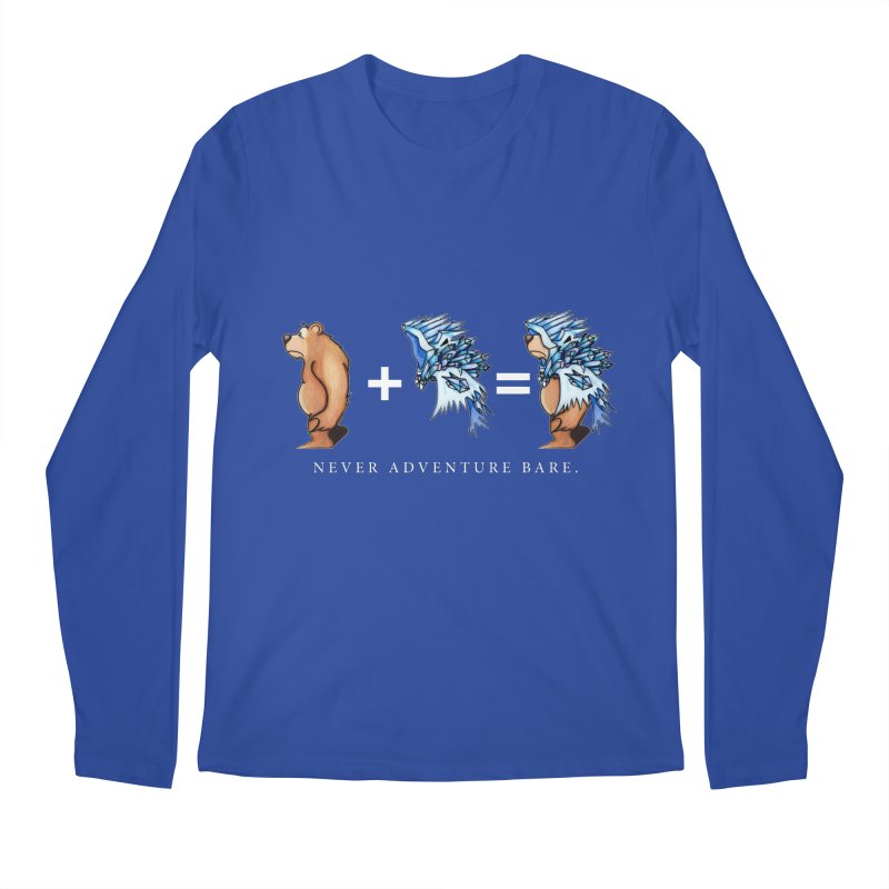 Blue Bear Men's Regular Longsleeve T-Shirt by Norman Wilkerson Designs