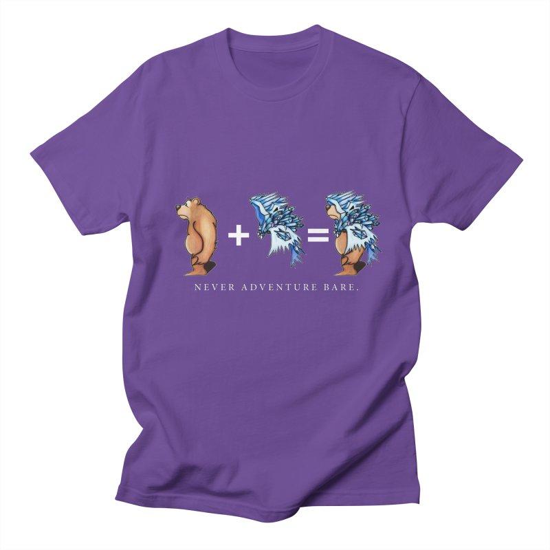 Blue Bear Men's Regular T-Shirt by Norman Wilkerson Designs