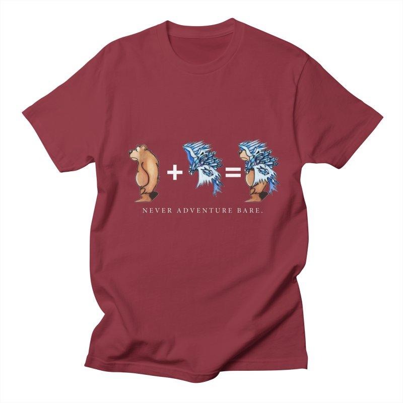 Blue Bear Men's T-Shirt by Norman Wilkerson Designs