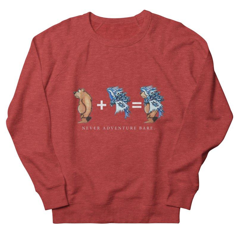 Blue Bear Men's French Terry Sweatshirt by Norman Wilkerson Designs