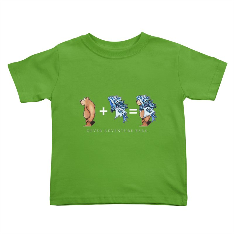Blue Bear Kids Toddler T-Shirt by Norman Wilkerson Designs