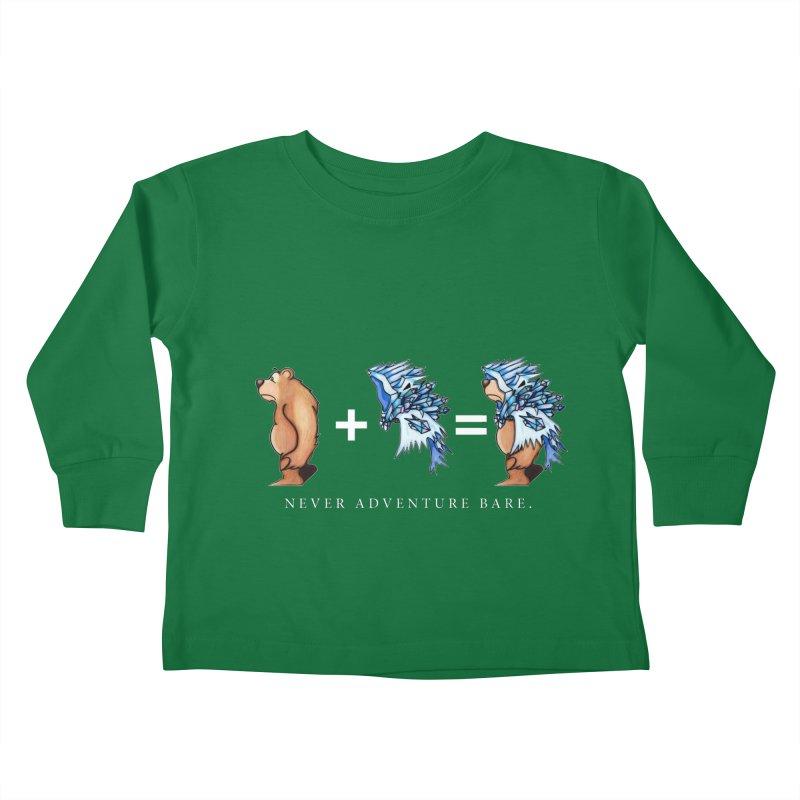 Blue Bear Kids Toddler Longsleeve T-Shirt by Norman Wilkerson Designs
