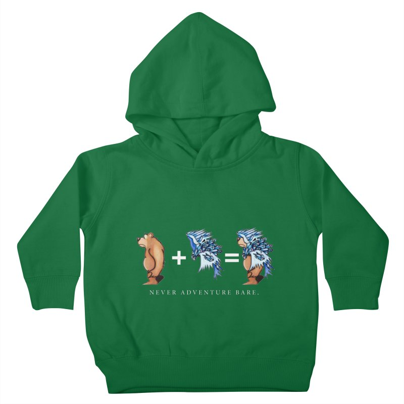 Blue Bear Kids Toddler Pullover Hoody by Norman Wilkerson Designs