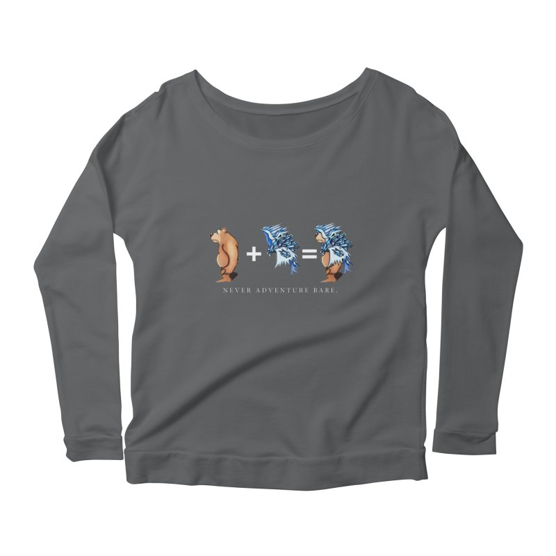 Blue Bear Women's Longsleeve T-Shirt by Norman Wilkerson Designs