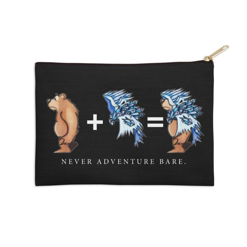 Blue Bear Accessories Zip Pouch by Norman Wilkerson Designs