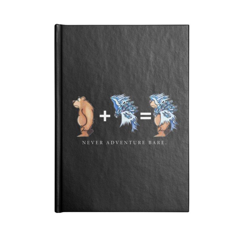 Blue Bear Accessories Blank Journal Notebook by Norman Wilkerson Designs
