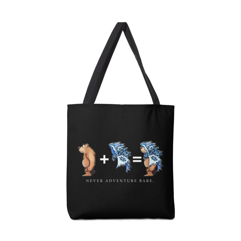 Blue Bear Accessories Tote Bag Bag by Norman Wilkerson Designs