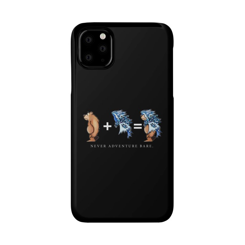 Blue Bear Accessories Phone Case by Norman Wilkerson Designs