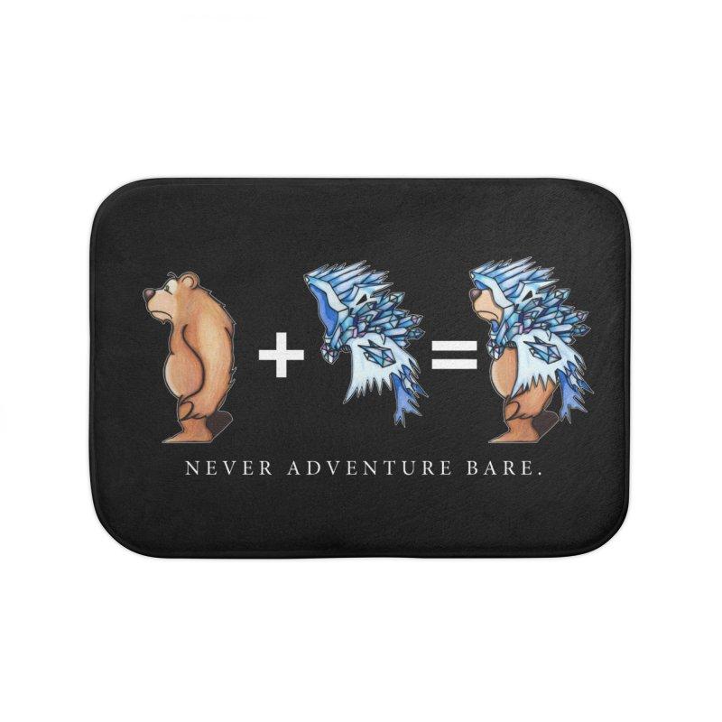 Blue Bear Home Bath Mat by Norman Wilkerson Designs