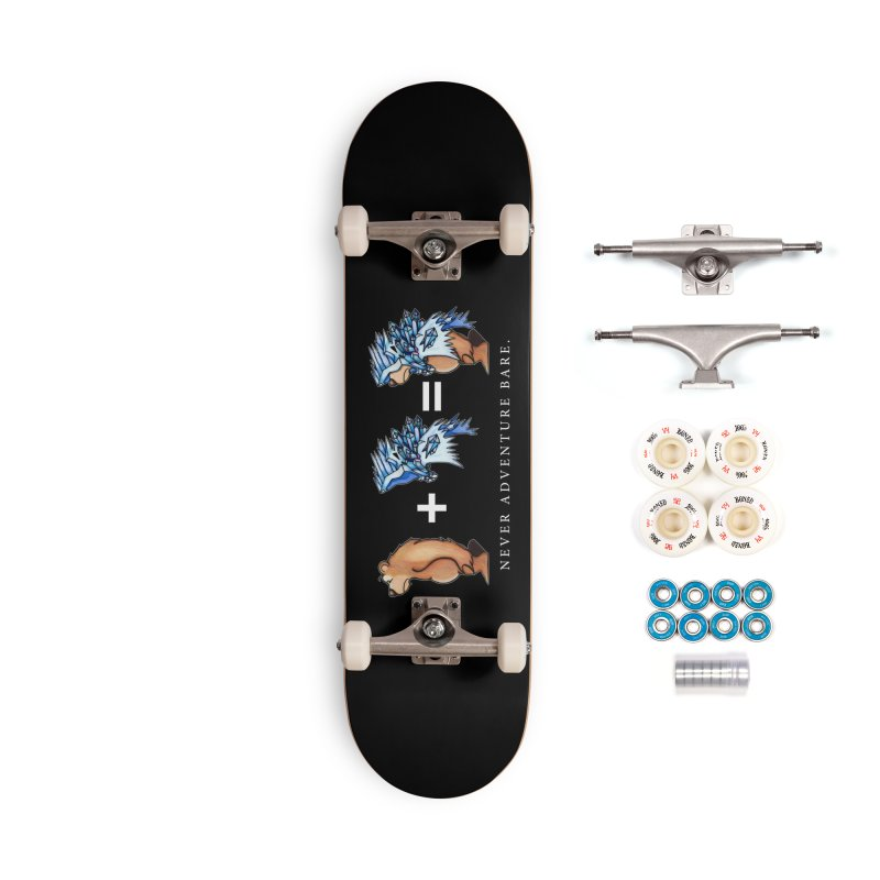 Blue Bear Accessories Complete - Premium Skateboard by Norman Wilkerson Designs