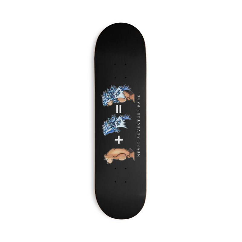 Blue Bear Accessories Deck Only Skateboard by Norman Wilkerson Designs