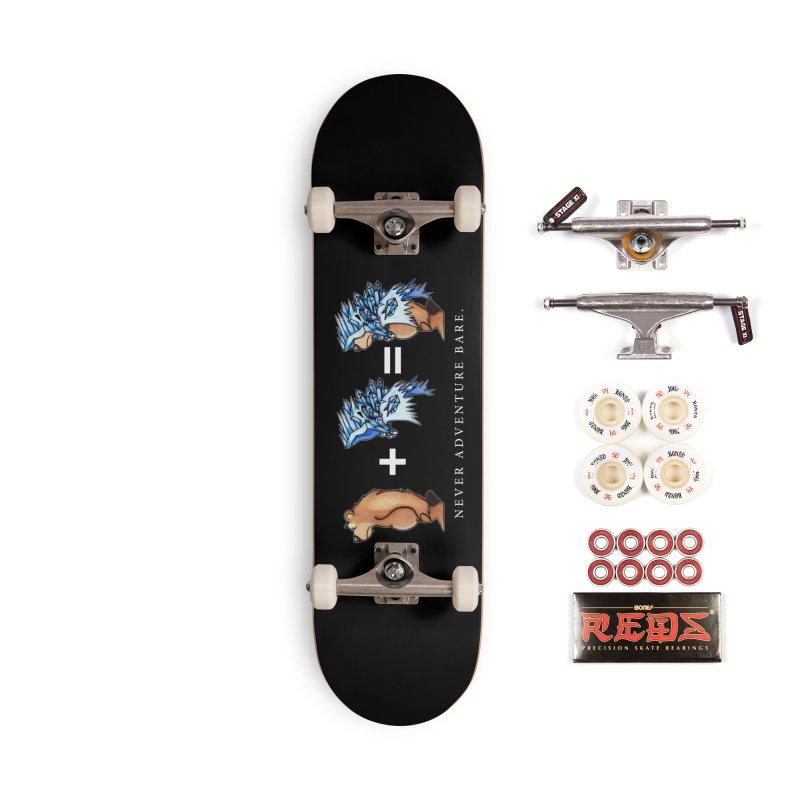 Blue Bear Accessories Complete - Pro Skateboard by Norman Wilkerson Designs