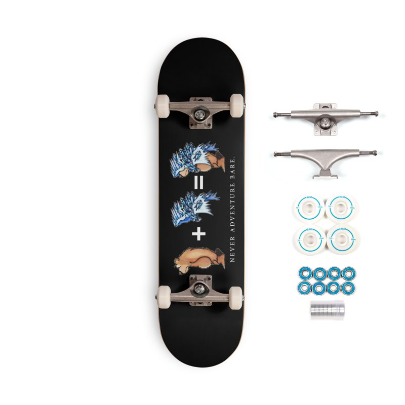 Blue Bear Accessories Complete - Basic Skateboard by Norman Wilkerson Designs