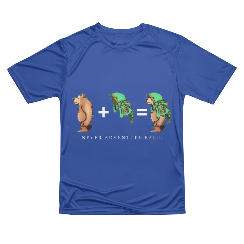 Green Bear Men's Performance T-Shirt by Norman Wilkerson Designs