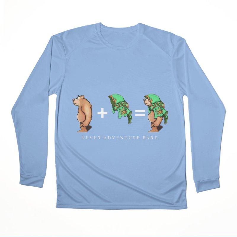 Green Bear Women's Longsleeve T-Shirt by Norman Wilkerson Designs