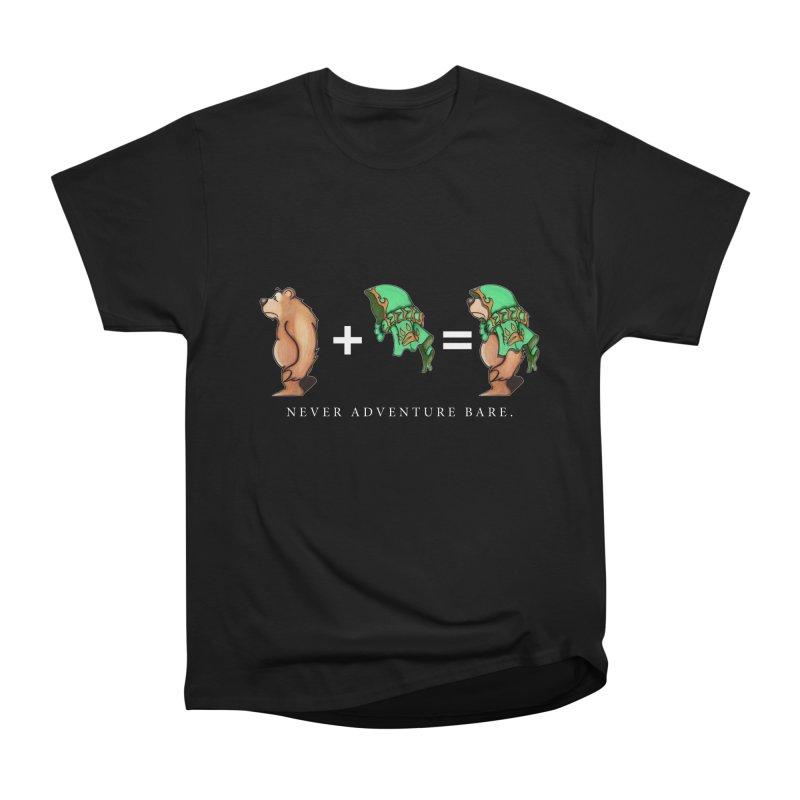 Green Bear Women's Heavyweight Unisex T-Shirt by Norman Wilkerson Designs
