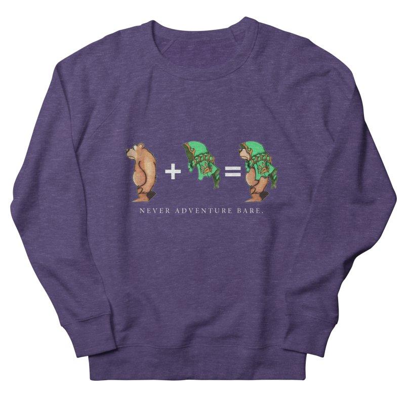 Green Bear Men's French Terry Sweatshirt by Norman Wilkerson Designs