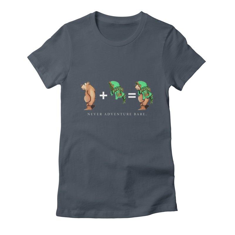 Green Bear Women's T-Shirt by Norman Wilkerson Designs