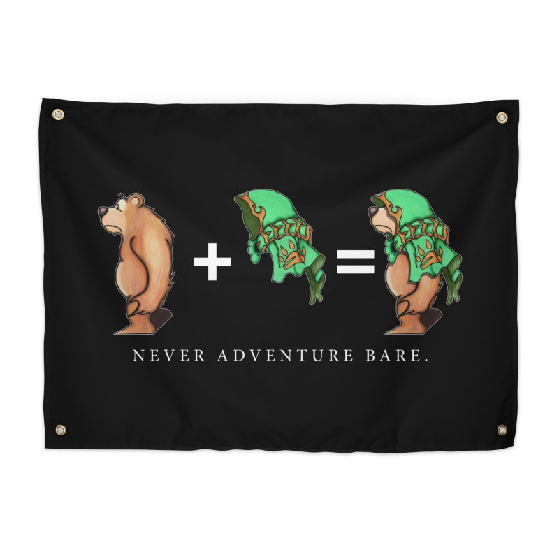 Green Bear Home Tapestry by Norman Wilkerson Designs