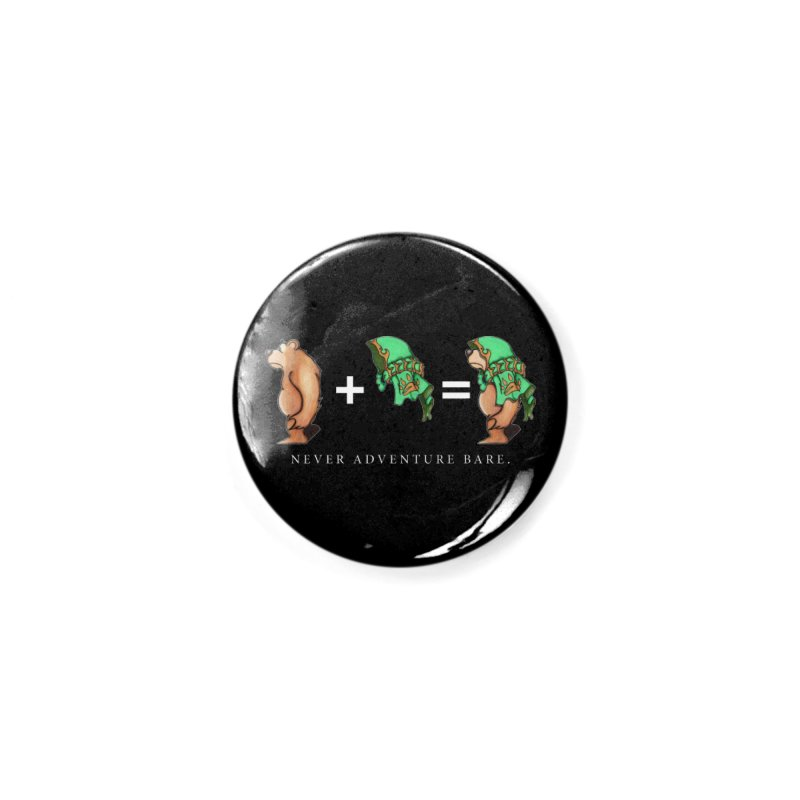 Green Bear Accessories Button by Norman Wilkerson Designs
