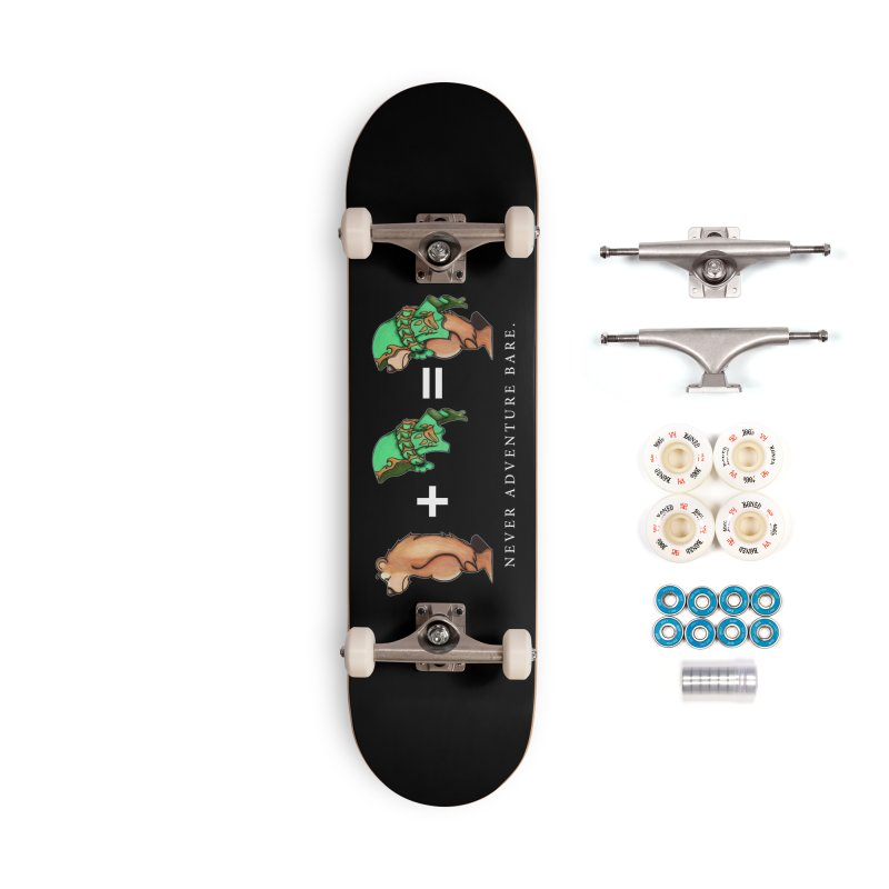Green Bear Accessories Complete - Premium Skateboard by Norman Wilkerson Designs
